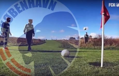 FCK spiller fodboldgolf på sjælland